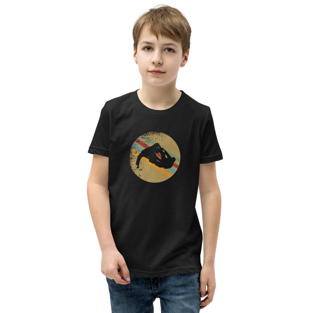 Kid Silhouette of Jiu Jitsu Shirt
