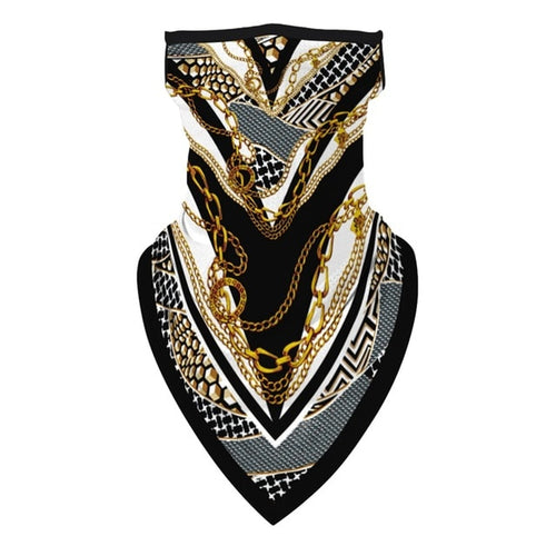 🐝Unisex Fashion Bandana Cover. Designed To Compliment Street-wear.
