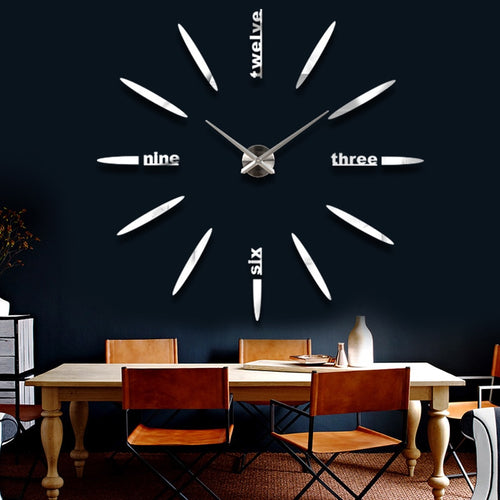 Decorative 3D Quartz Wall Clock