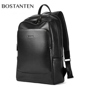 Bostanten ☀ Men's Genuine Leather Designer Backpack..