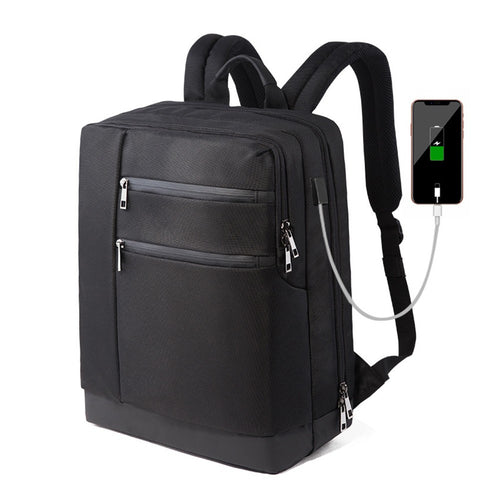 Anti-Theft Backpack With USB Charging Port.