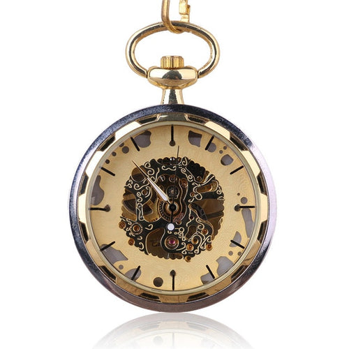 ☀ Roman Numeral Pocket Watch .. 4JEANS2!