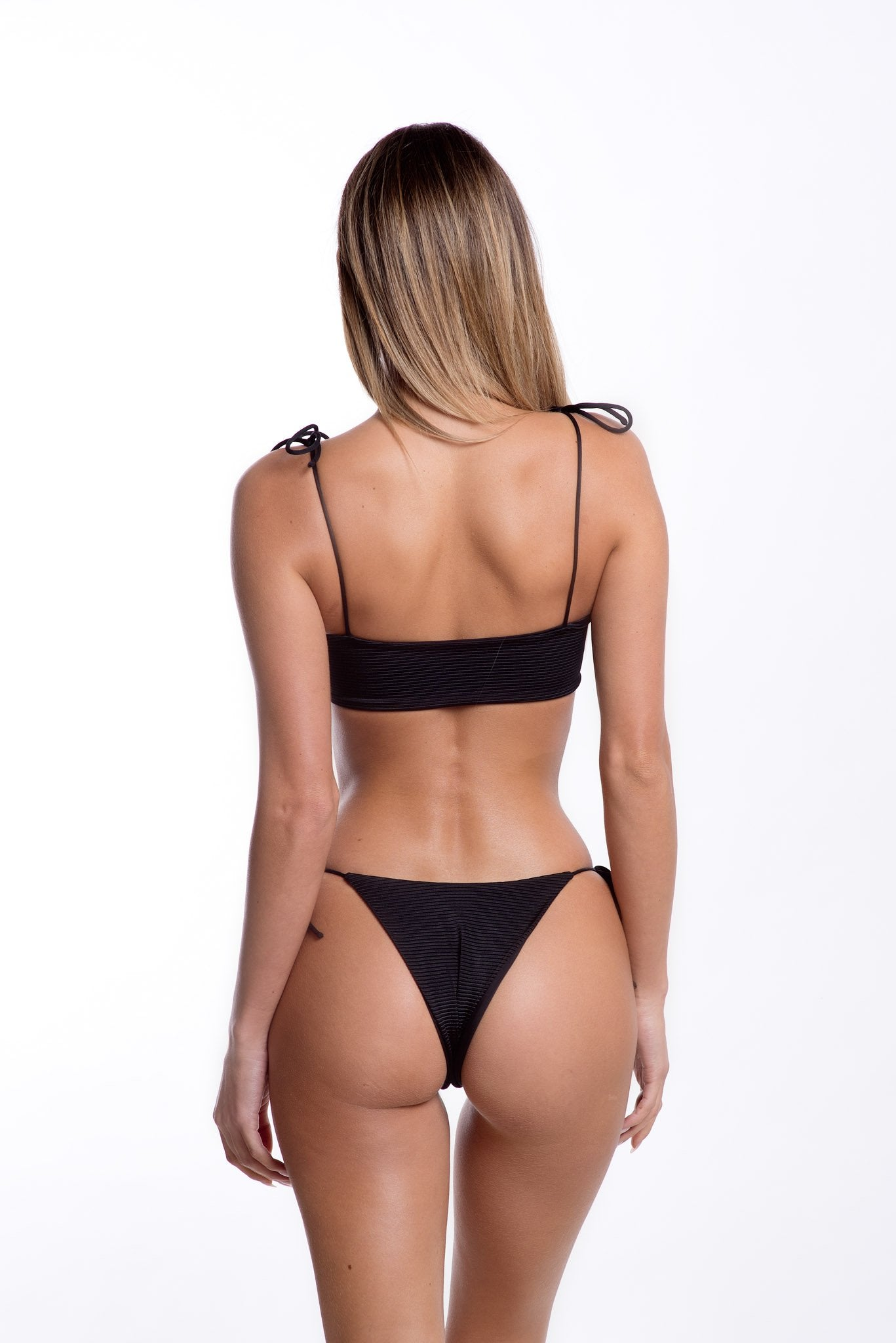 Cindy Bottoms Black Rib