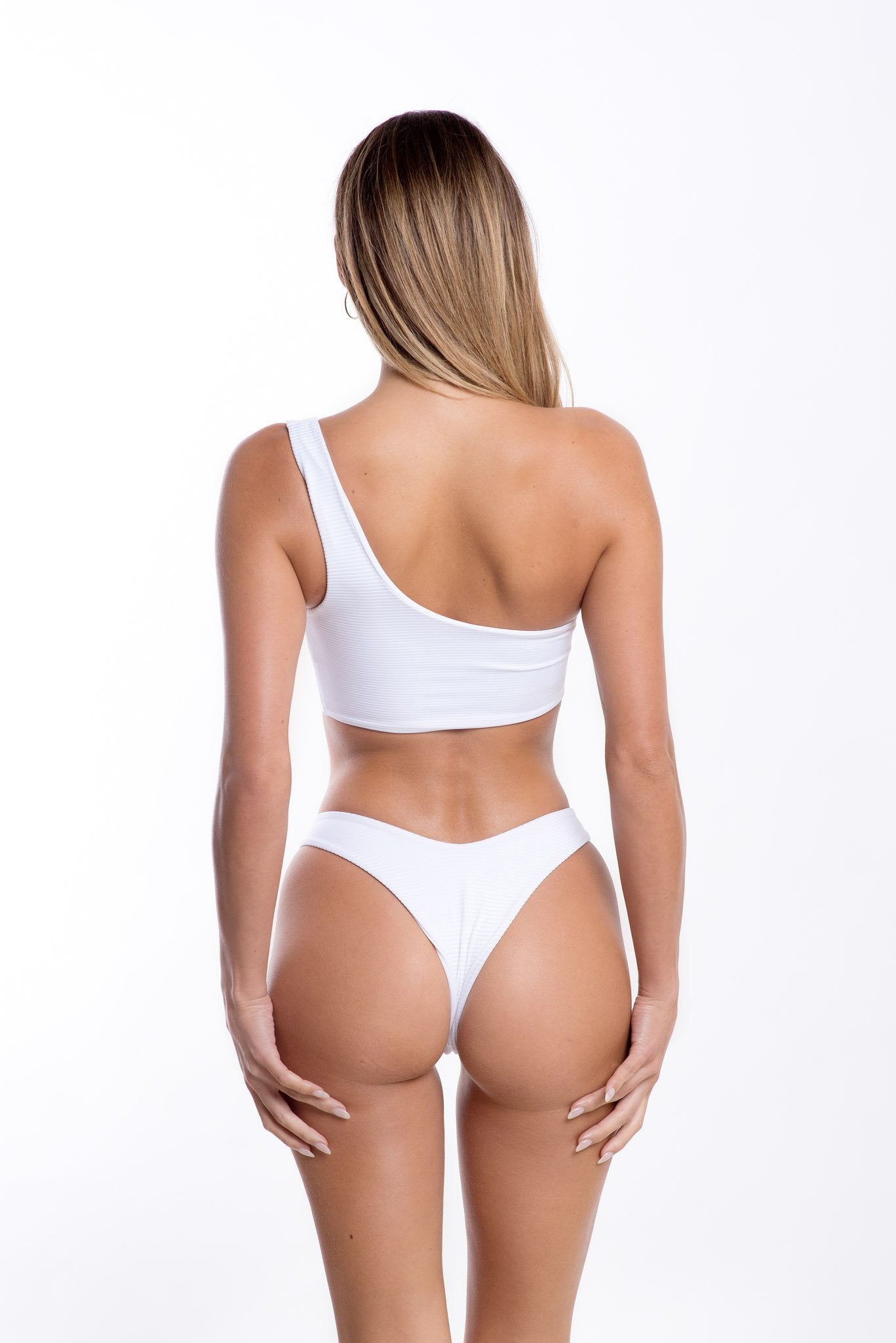 Gigi Bottoms White Rib