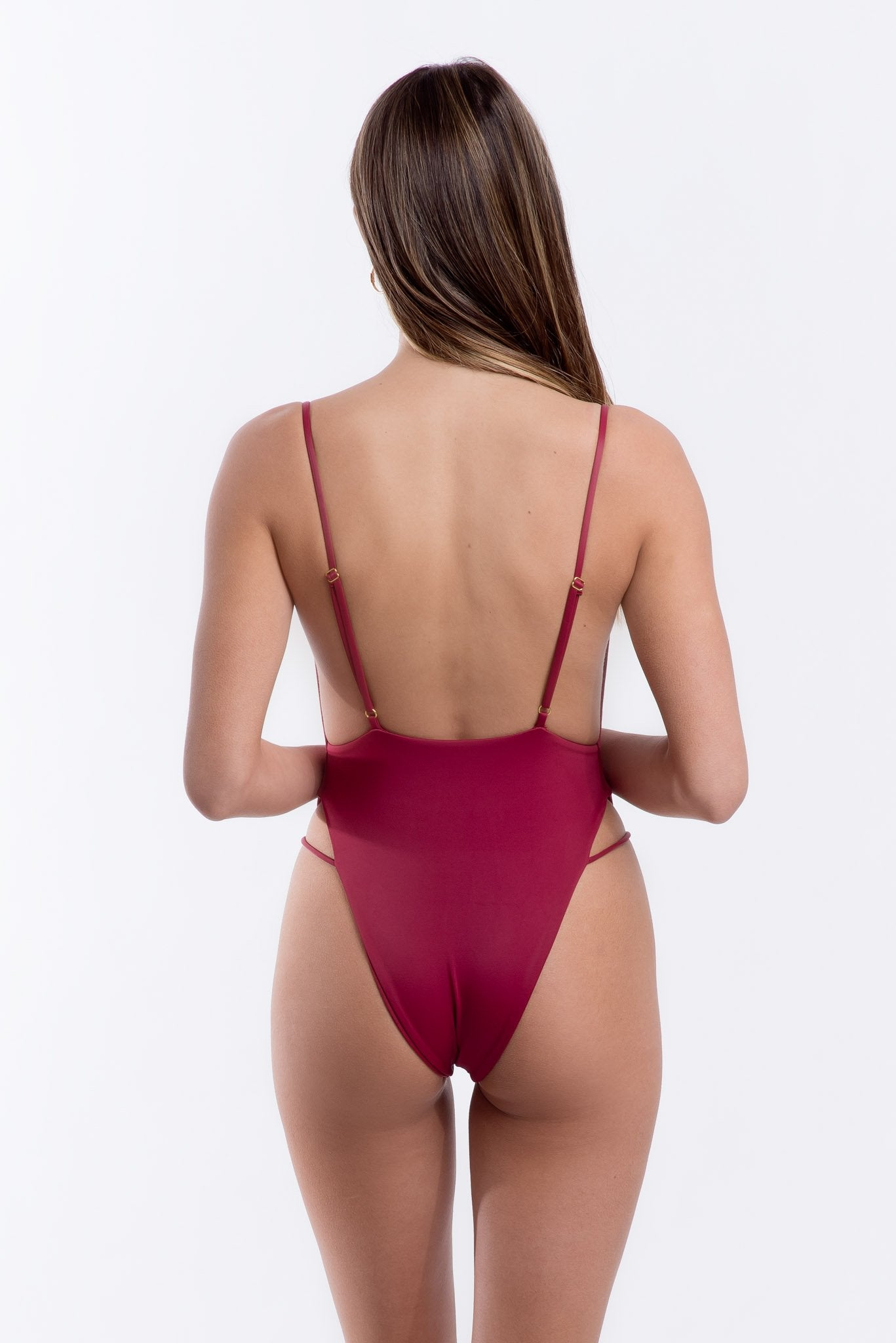 Jordyn One Piece Merlot