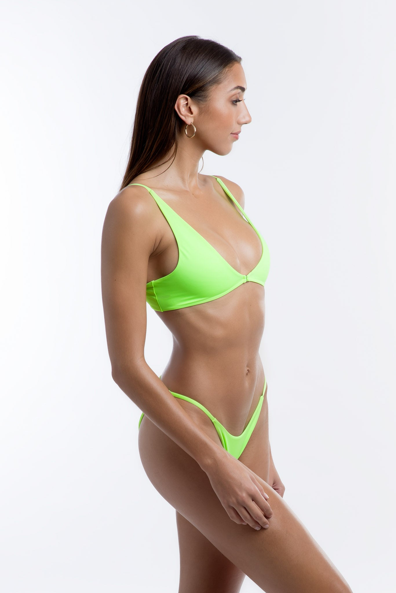 Kendal Top Neon Green