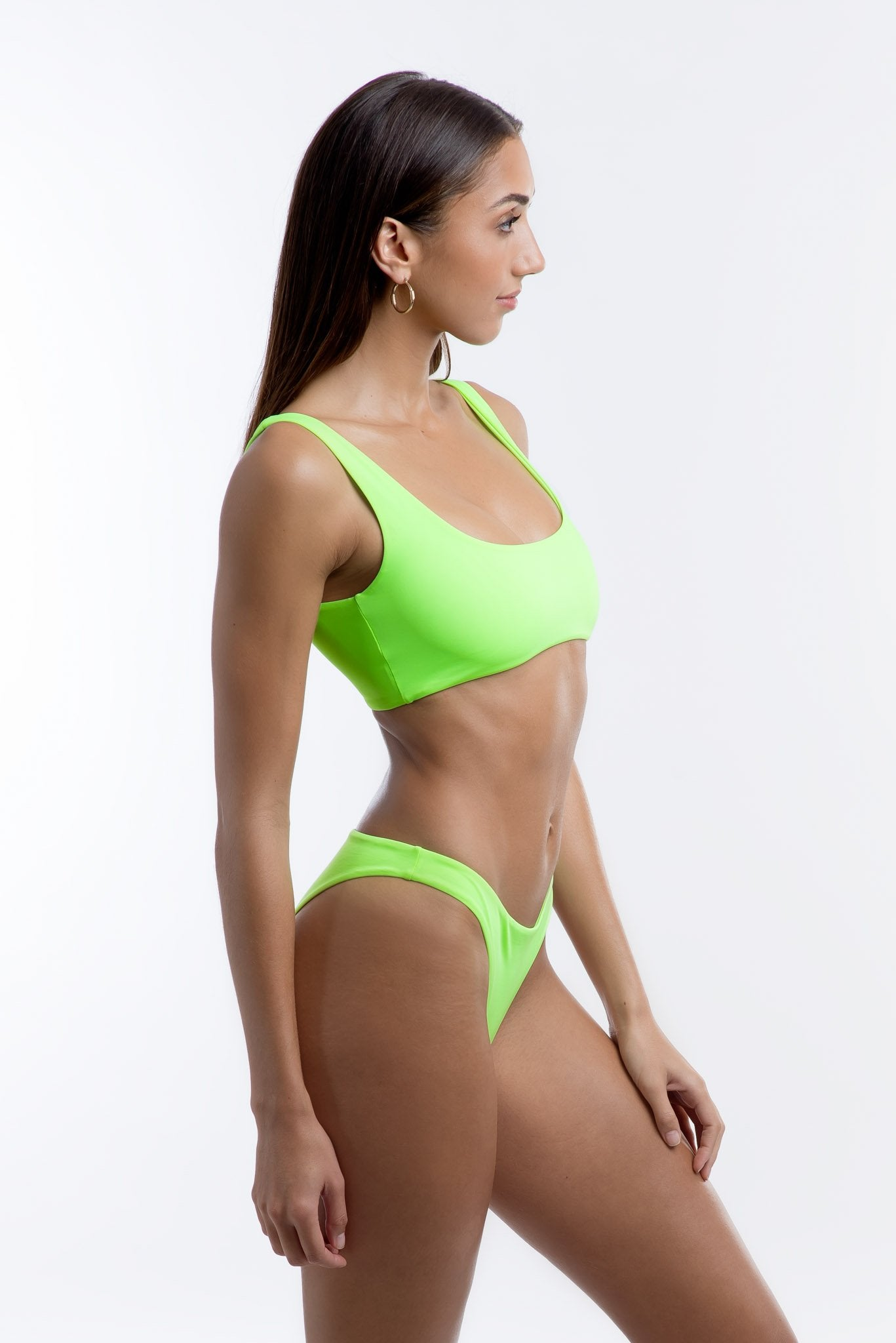 Venus Top Neon Green