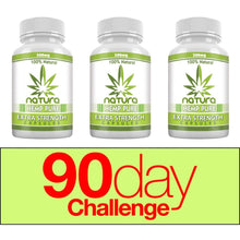 Load image into Gallery viewer, QFL™ Organic 300mg Hemp Oil Capsules for Pain, Anxiety & Stress Relief (30 Capsules)