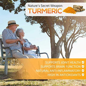1500 mg/serving active curcuminoids QFL TurmericX 240 Veggie Capsules- 4 Months Supply- 95% Curcumin Turmeric Powder with Ginger, Black Pepper for Better Absorption - Ayurvedic NON-GMO Antioxidant & Anti-Inflammatory Joint Pain Relief