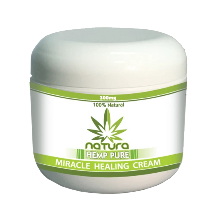 QFL NATURA HEMP PURE MIRACLE PAIN RELIEF CREAM 300mg. Made in USA.