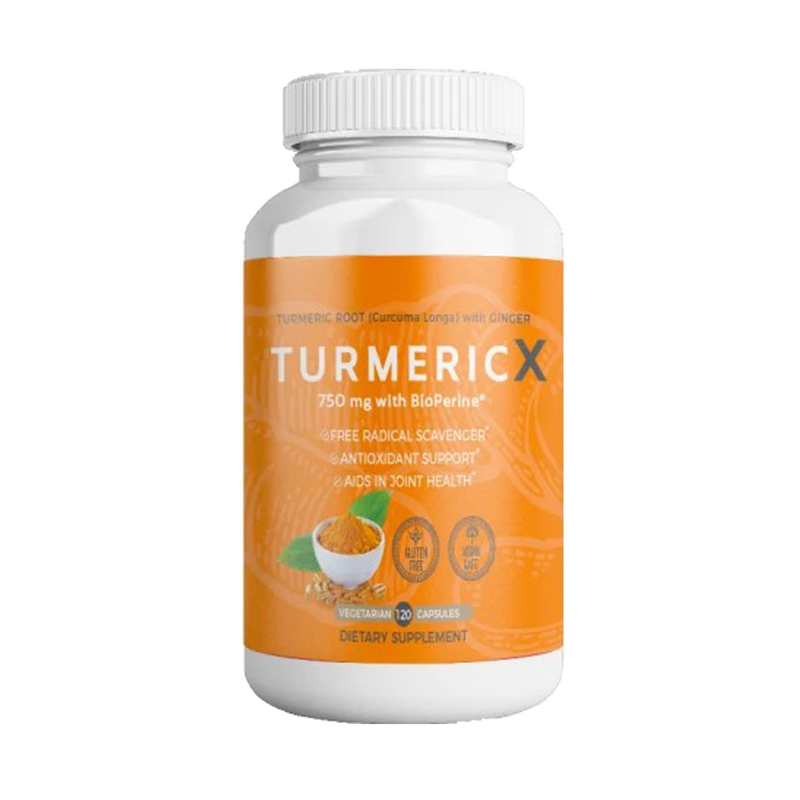QFL TurmericX 120 Veggie Cap. 2 Months Supply- 95% Curcumin Powder with Ginger, Black Pepper. 1500mg