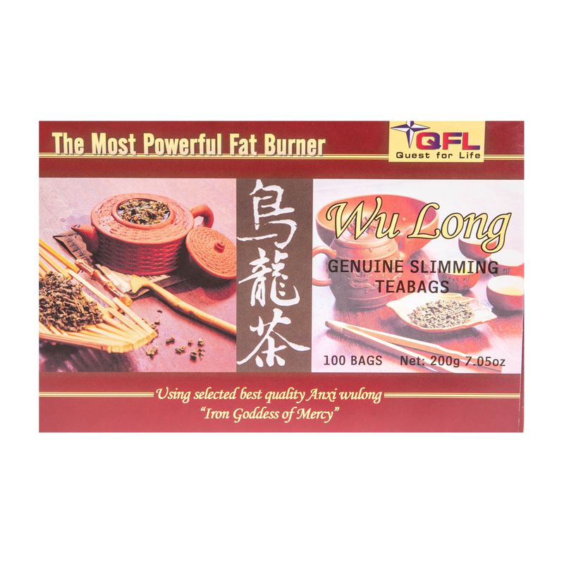 QFL Wulong Premium Slimming Tea. All Natural Tea Bags (100 Tea Bags)