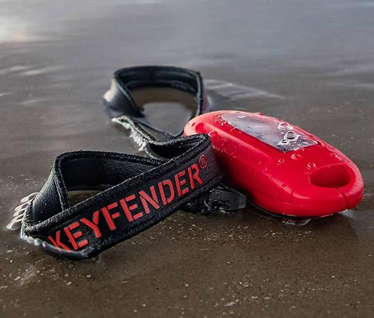 waterproof car key case outdoor at the beach