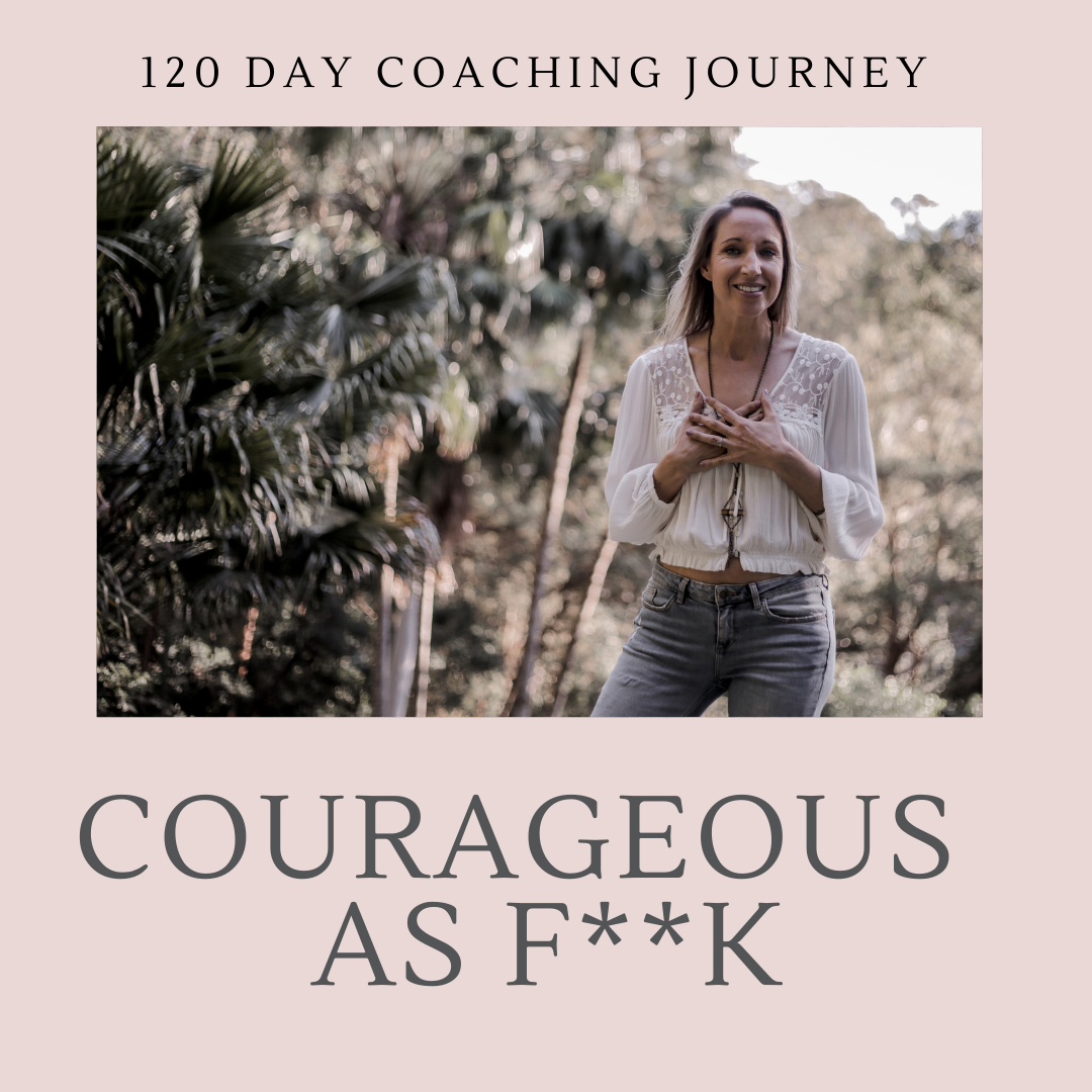 """I Am Courageous"" - Four month Immersion Package"