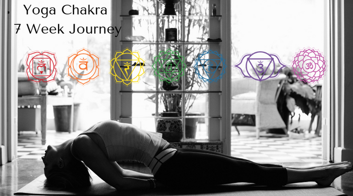 Fully booked - Yoga chakra Personal Development Journey - 7 weeks - Wed evenings - 6.30-8.15pm