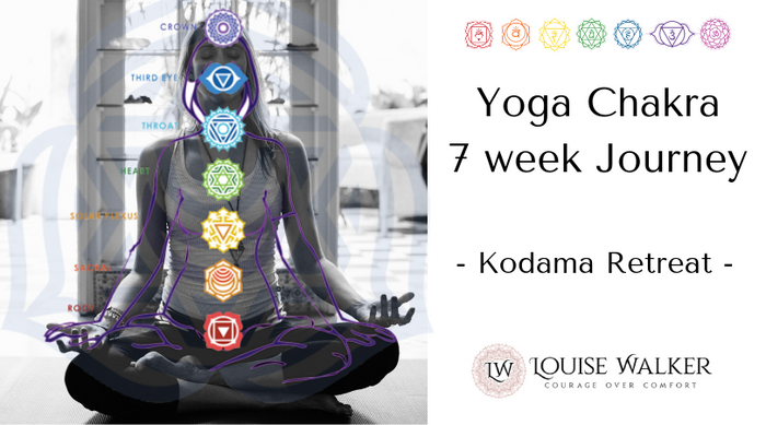 Yoga chakra Personal Development Journey - 7 weeks - Wed evenings - 6.30-8.15pm