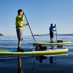 Stand Up Paddleboard Tour Father and Son Forward Stroke
