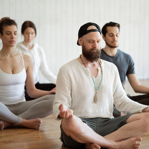 Kundalini Yoga with Meditation Private Booking with Derik Hyatt Meditation in Gyan Mudra