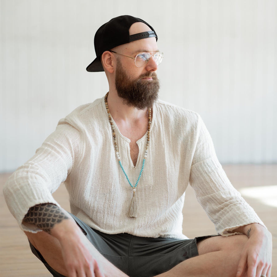 Kundalini Yoga with Meditation Private Booking with Derik Hyatt in Easy Pose