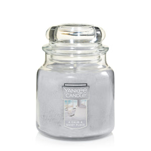 Yankee Classic Jar Candle - Medium - A Calm & Quiet Place