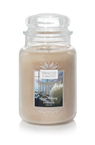 Yankee Classic Jar Candle - Large - Alpine Morning