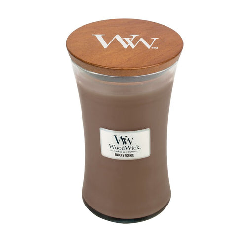 WoodWick - Large - Amber & Incense