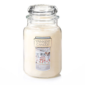Yankee Classic Jar Candle - Bakery Air - Candle Cottage