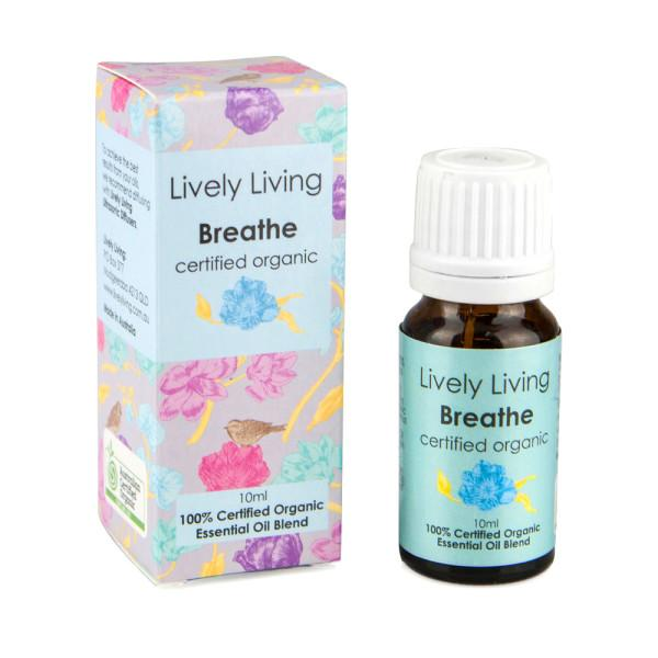 100% Certified Organic Essential Oil - Breathe - Candle Cottage