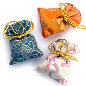 Shoyeido Brocade Cloth Sachet - Large - Miyako - Premium Quality - Candle Cottage
