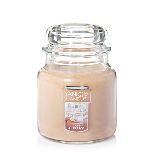 Yankee Classic Jar Candle - Cafe Al Fresco - Candle Cottage