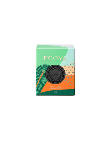 Ecoya Christmas Car Diffuser - Fresh Pine