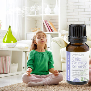 100% Certified Organic Essential Oil - Child Calming Remedy - Candle Cottage
