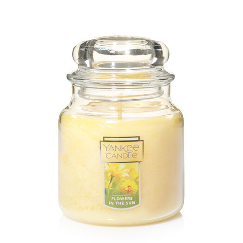 Yankee Classic Jar Candle - Medium - Flowers in the Sun