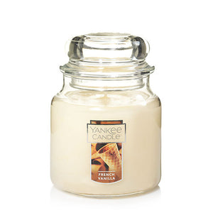 Yankee Classic Jar Candle - French Vanilla - Candle Cottage