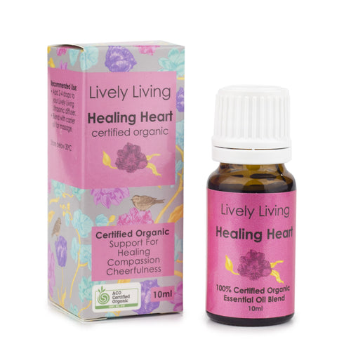 100% Certified Organic Essential Oil - Healing Heart - Candle Cottage