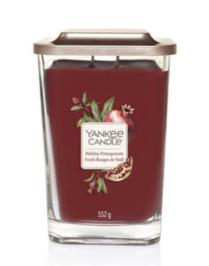 Yankee Elevation - Large - Holiday Pomegranate