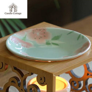 Bamboo Wax / Oil Burner Plate