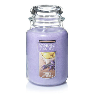 Yankee Classic Jar Candle - Lemon Lavender - Candle Cottage