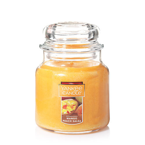 Yankee Classic Jar Candle - Mango Peach Salsa - Candle Cottage