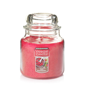 Yankee Classic Jar Candle - Medium - Red Raspberry