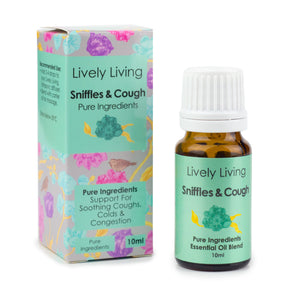 100% Certified Organic Essential Oil - Sniffles & Cough - Candle Cottage