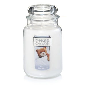 Yankee Classic Jar Candle - Soft Blanket - Candle Cottage
