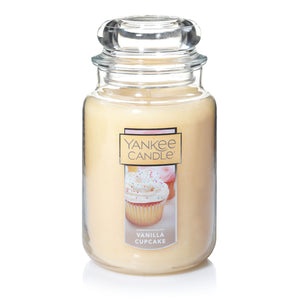 Yankee Classic Jar Candle - Vanilla Cupcake - Candle Cottage