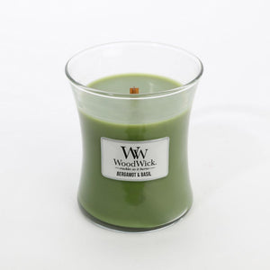 WoodWick - Medium - Bergamot & Basil