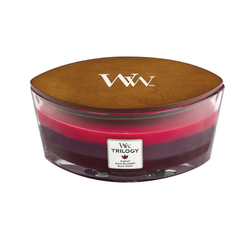 WoodWick Hearthwick Trilogy - Sun Ripened Berries