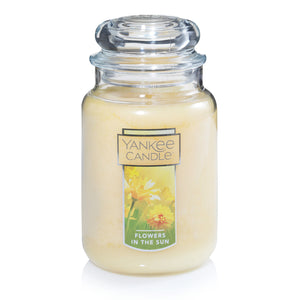 Yankee Classic Jar Candle - Large - Flowers in the Sun
