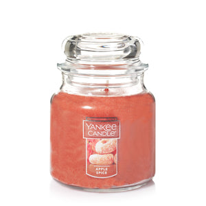 Yankee Classic Jar Candle - Medium - Apple Spice
