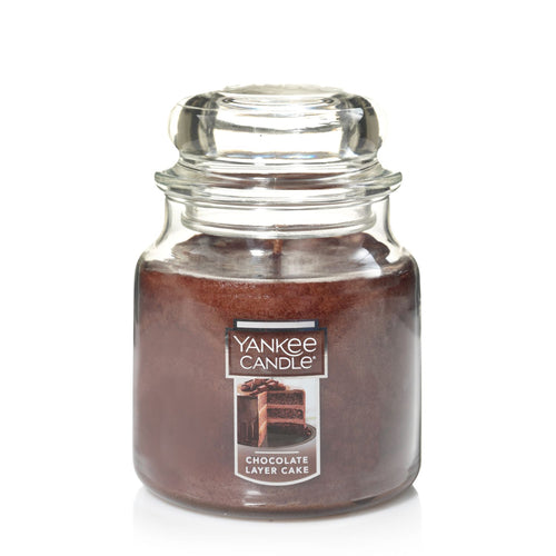 Yankee Classic Jar Candle - Chocolate Layer Cake - Candle Cottage