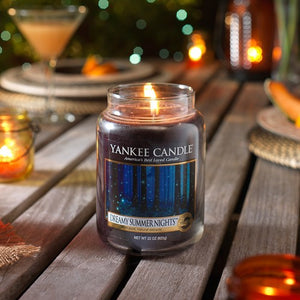 Yankee Classic Jar Candle - Dreamy Summer Nights Original Label