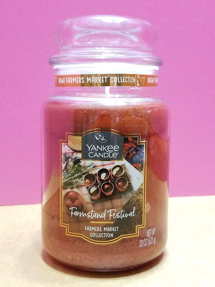 Yankee Classic Jar Candle - Large - Farmstand Festival